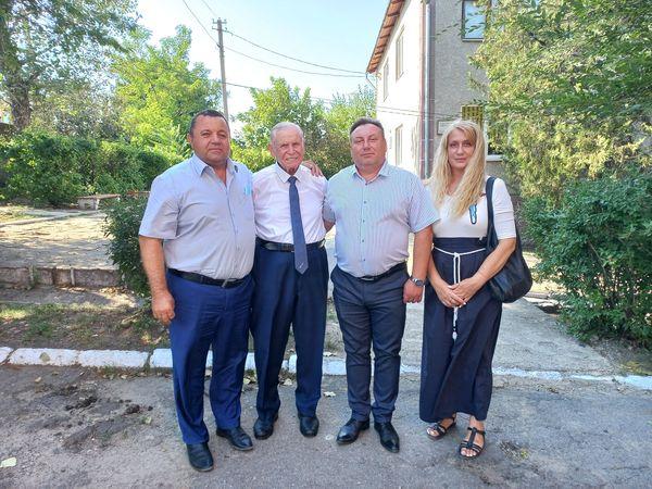 Тарутинская больница получила полезный подарок от бессарабских немцев