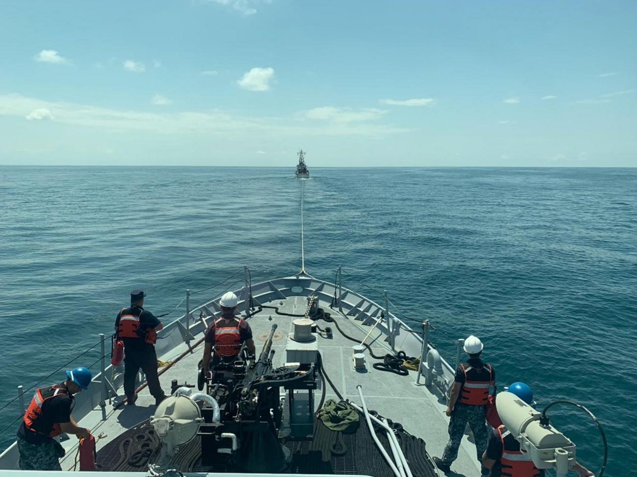 Украинские и грузинские военные моряки провели совместные учения в Черном море