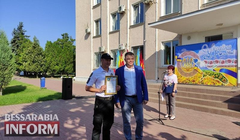 В Белгороде-Днестровском отметили День государственного флага и День освобождения города от нацизма (фоторепортаж)