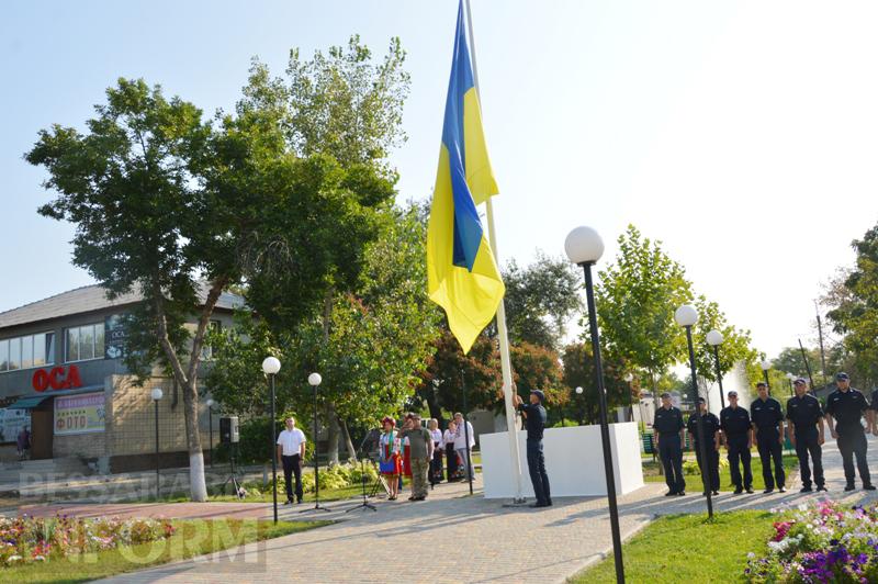 В Килии торжественно подняли главный флаг города (фоторепортаж)