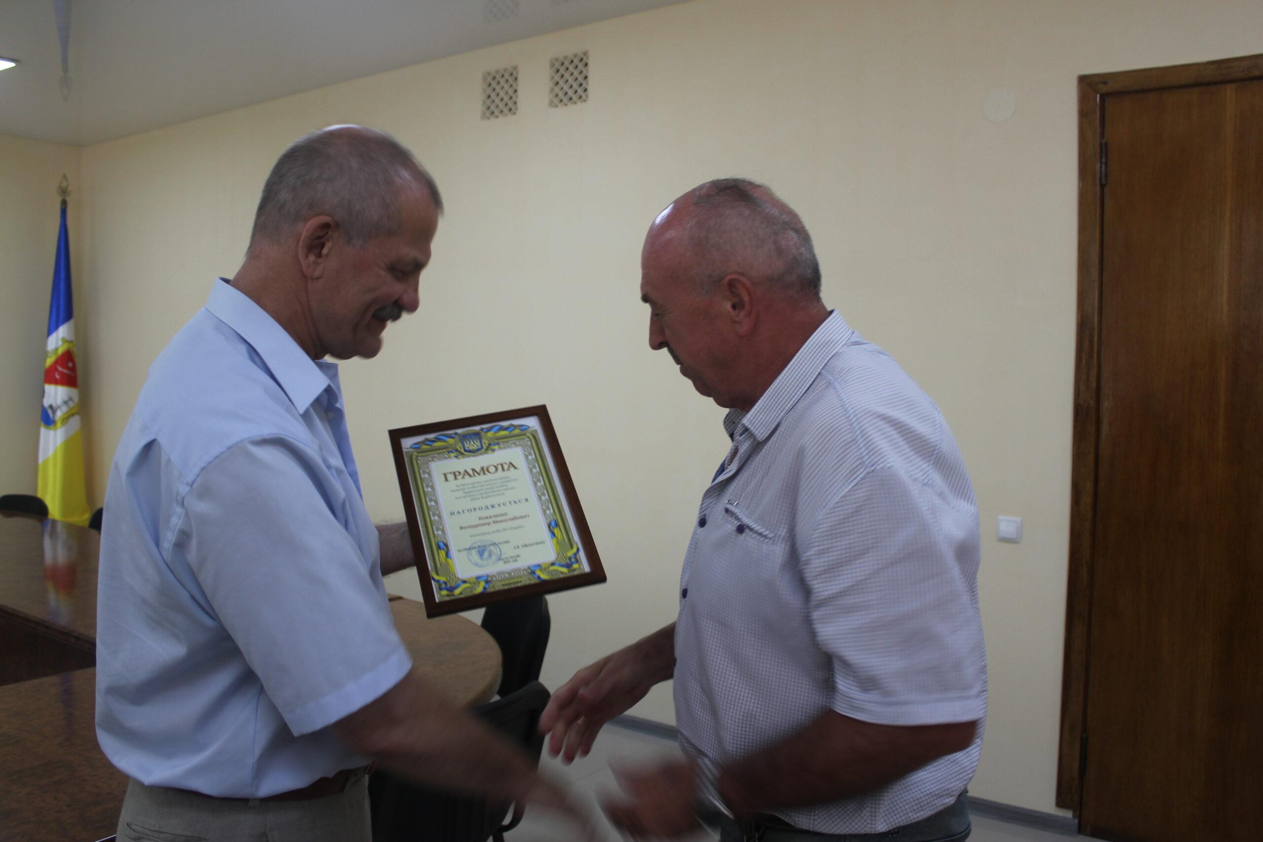 В Измаиле в преддверии профессионального праздника чествовали строителей (фото)