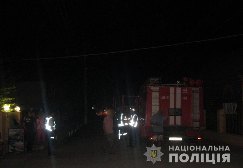 Из-за угрозы взрыва с базы отдыха в Затоке эвакуировали 200 отдыхающих