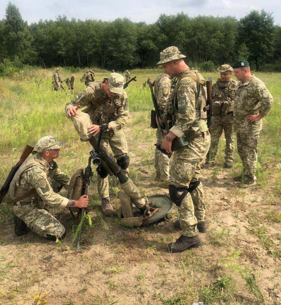 Военнослужащие Измаильского погранотряда на Львовщине почти два месяца проведут на стратегических учениях