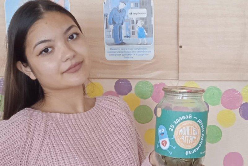 В Килии собрали более десяти килограммов 25-копеечных монет для помощи детям с онкологией