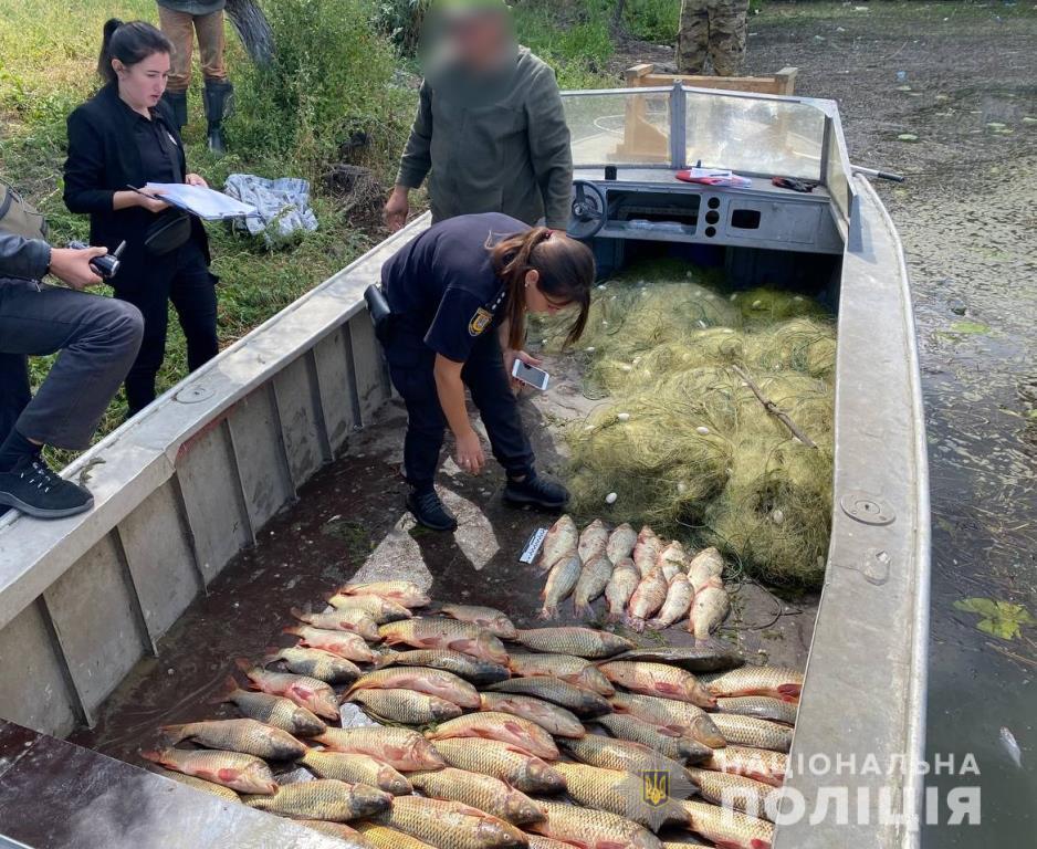 Водная полиция разоблачила на Днестровском лимане двух браконьеров