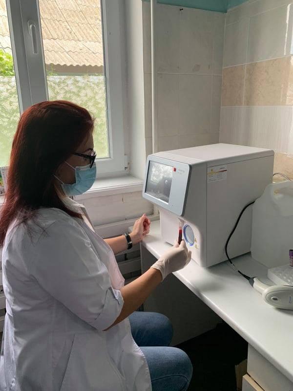 Три амбулатории Измаильского района получили оборудование для проведения анализа крови