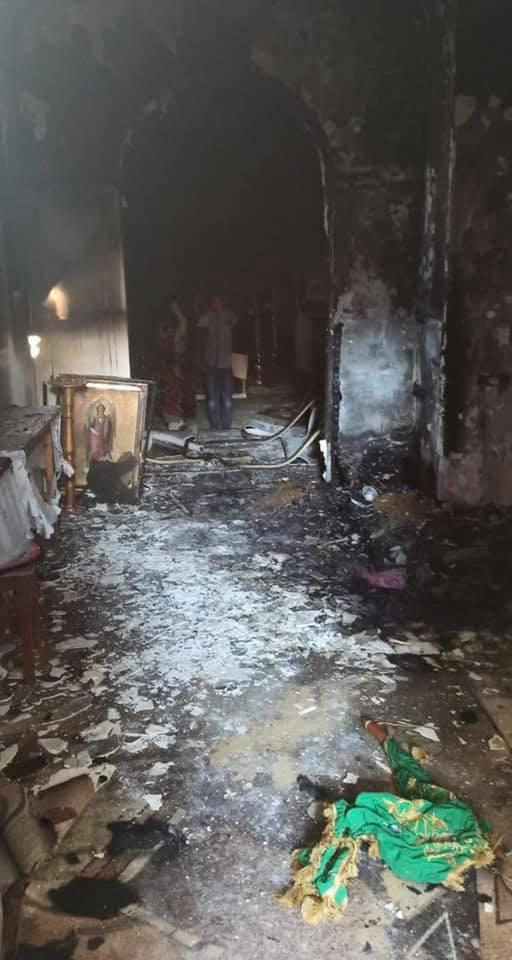 В Болградском районе неизвестные подожгли строящийся храм