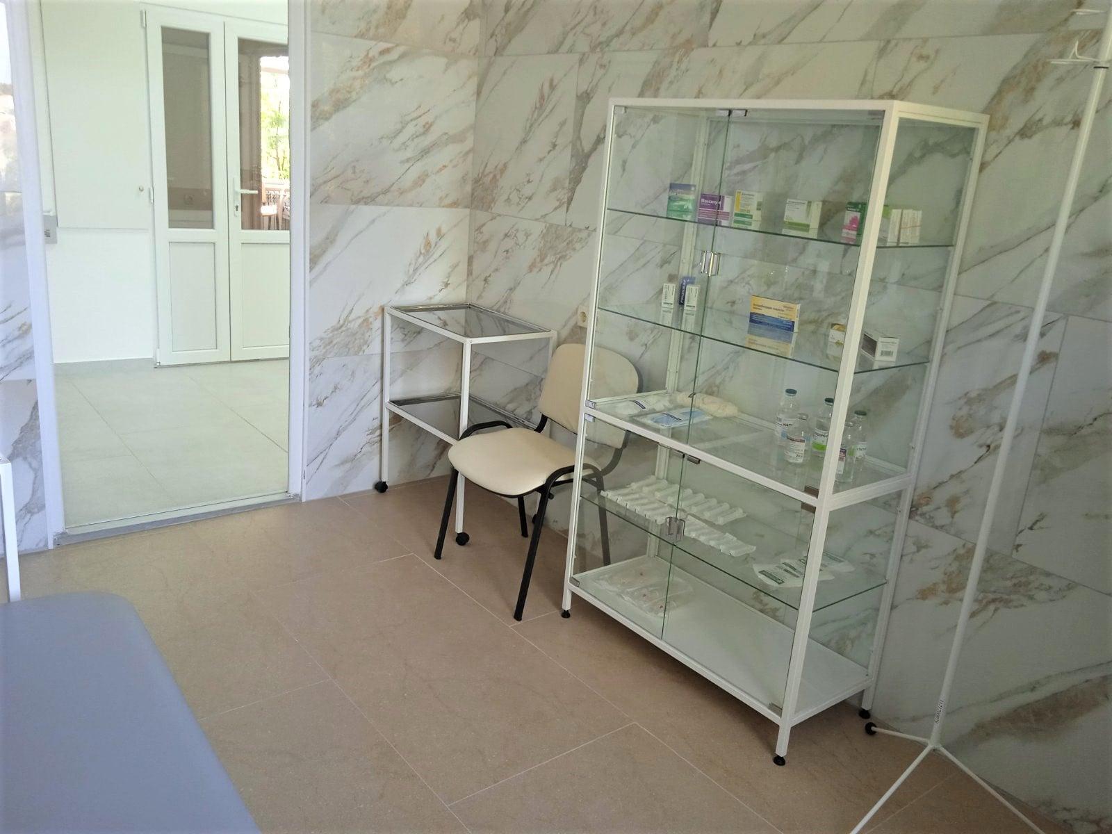 В Измаиле открыли после ремонта часть инфекционного отделения Центральной районной больницы