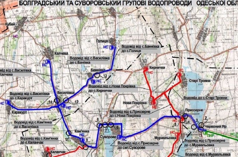 Антон Киссе рассказал, на каком этапе находится вопрос строительства Болградского группового водопровода