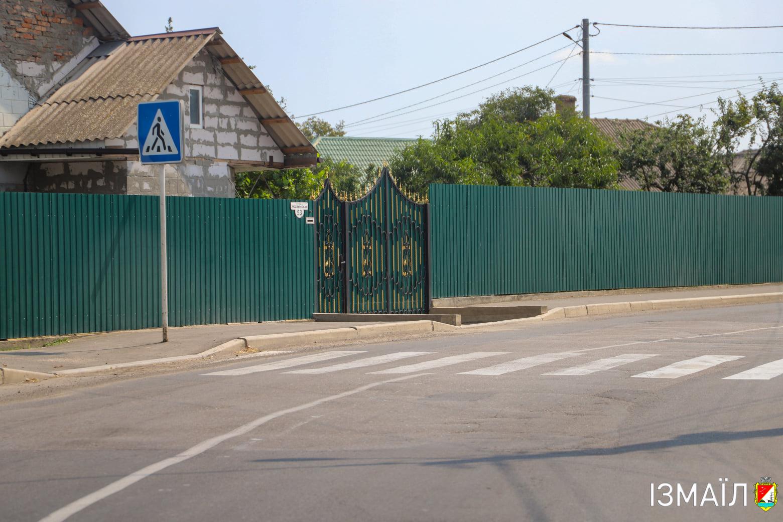 В Измаиле преображается не только центр: дорожники обновляют автомагистраль и тротуары на Ореховой балке (фото)