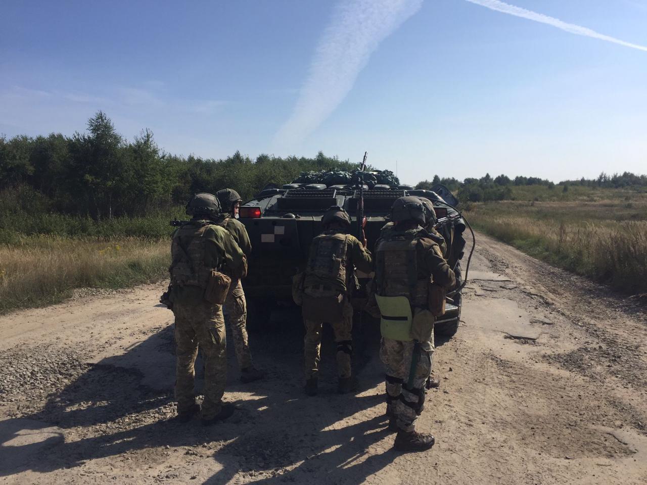 Военнослужащие Измаильского отряда отточили навыки по отражению атаки противника на госгранице и блокпостах