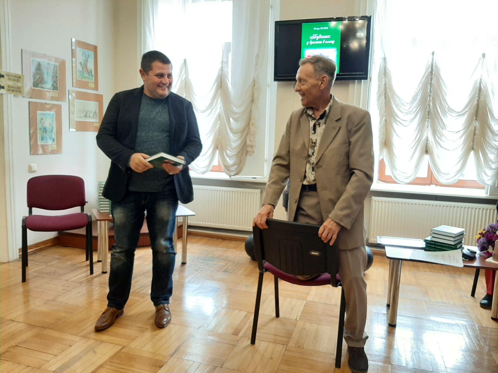 «Буджак: у времени в плену»: в Измаиле презентовали книгу измаильского журналиста и литератора о Бессарабии