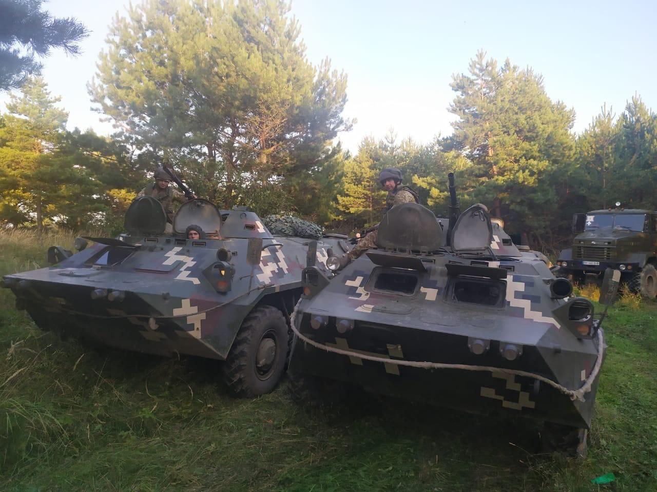 Пограничники Измаильского отряда завершили курс учений в рамках JMTG-U на Львовщине