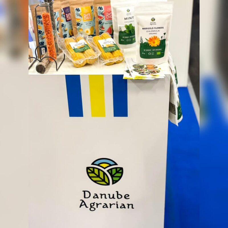 Фермер из Измаильского района представляет свою органическую продукцию на международной выставке в Германии