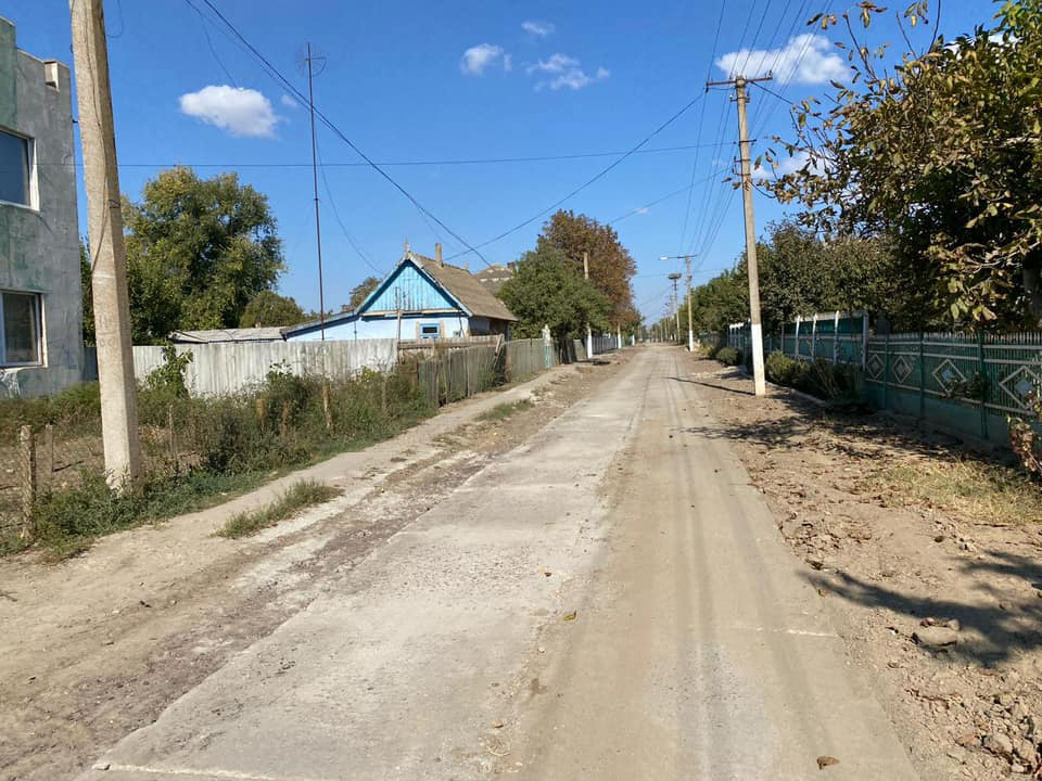 В Килии грунтовая дорога на пути к детскому саду получила твердое покрытие