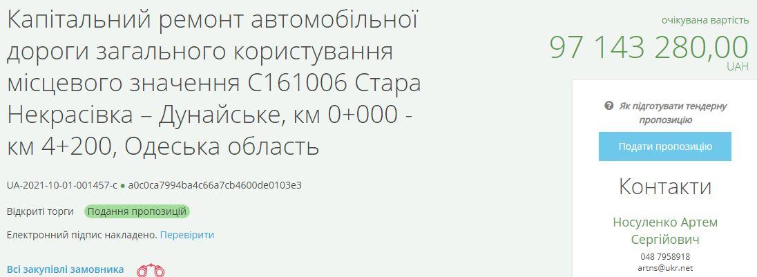 Капремонт аварийной автодороги Старая Некрасовка-Дунайское: когда ждать?