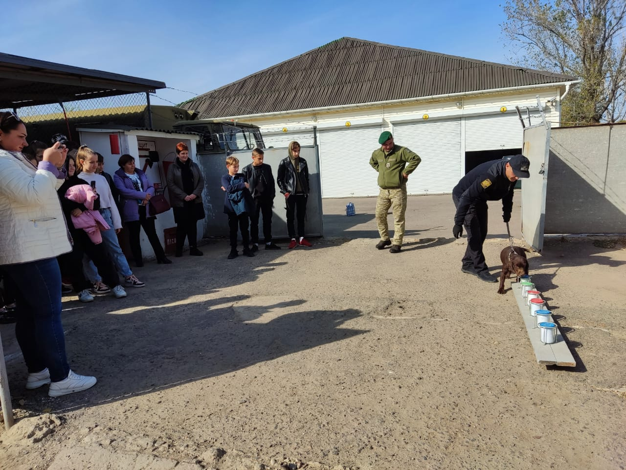 Пограничники Измаильского отряда провели профориентационные мероприятия в отделе погранслужбы «Болград»