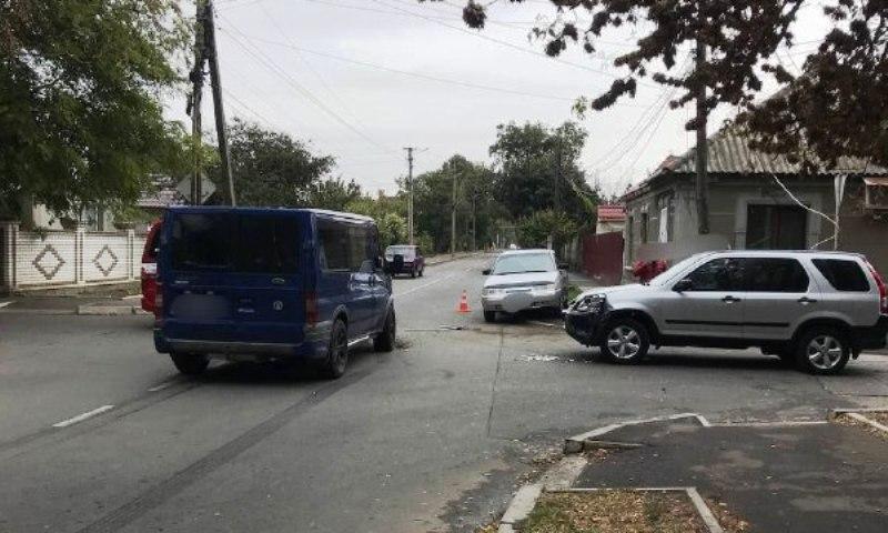 В тройном ДТП в Измаиле пострадала женщина-водитель