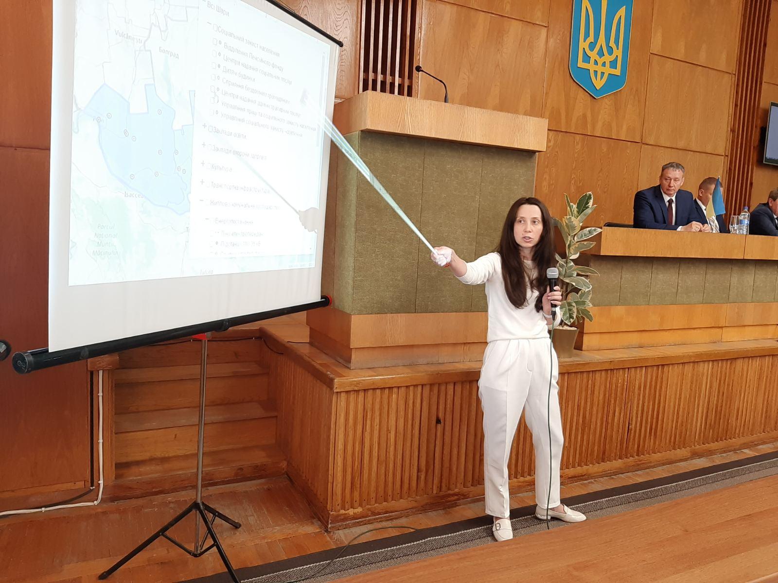 Информационная платформа Измаильского района утверждена, но требует доработки