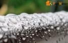 Как устранить конденсат на трубе холодной воды?